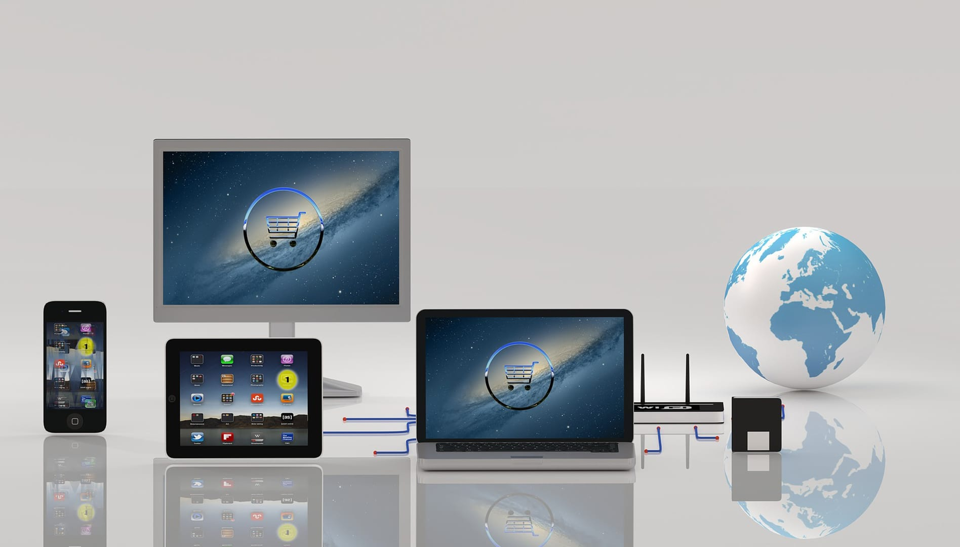 Computers and tablets on the web